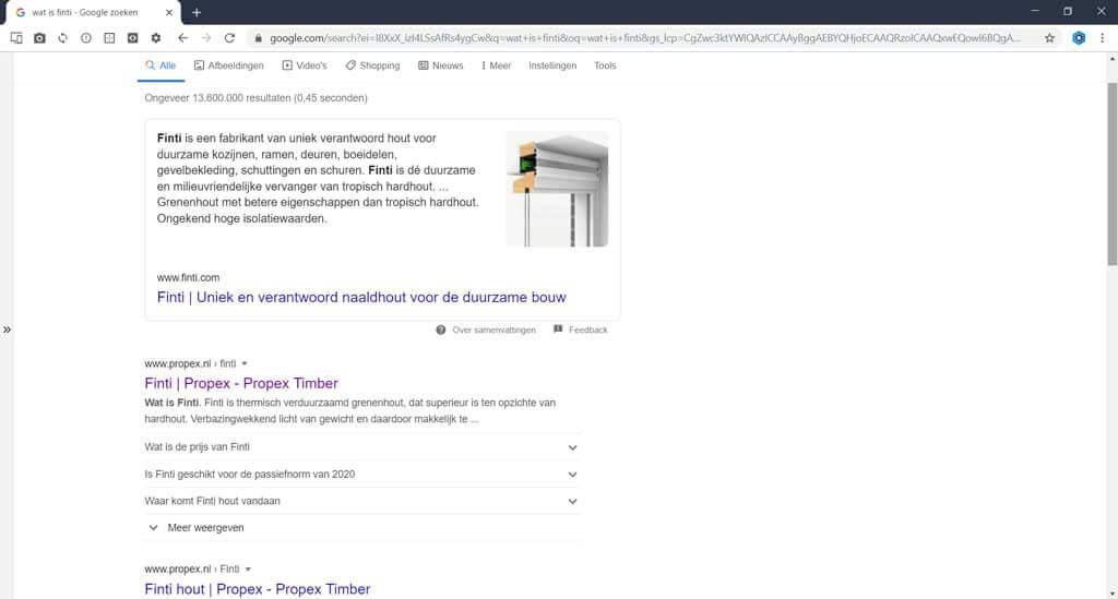 finti-zoekresultaat-webenco